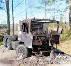 100 The Burnt Truck MAN Out Cab IModeler