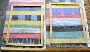 Framed Fabric Wall Art Diy Interior Design Schools In Texas