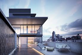 100 Sky House Nyc New Renderings Reveal The Penthouse Interiors At Tadao Andos NYC