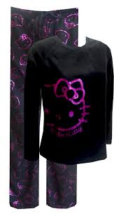 hello kitty shiny face micro polar fleece pajama so soft you u0027ll