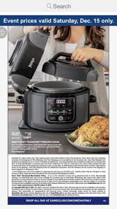 Ninja Foodi TenderCrisp Pressure Cooker Sams Club Dec 15 ... Magictracks Com Coupon Code Mama Mias Brookfield Wi Ninjakitchen 20 Offfriendship Pays Off Milled Ninja Foodi Pssure Cooker As Low 16799 Shipped Kohls Friends Family Sale Stacking Codes Cash Hot Only 10999 My Bjs Whosale Club 15 Best Black Friday Deals Sales For 2019 Low 14499 Free Cyber Days Deal Cold Hot Blender Taylors Round Up Of Through Monday Lid 111fy300 Official Replacement Parts Accsories Cbook Top 550 Easy And Delicious Recipes The
