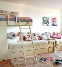 Three Kids Beds One Room