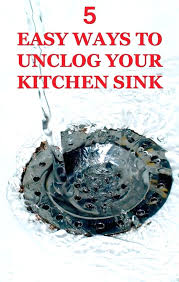 how to unclog your kitchen sink intunition com