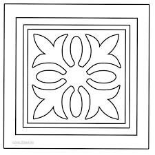 Rangoli Coloring Pages Printable
