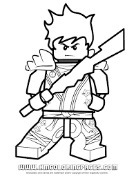 Ninjago Kai Zx Coloring Pages Lovely Lego Of