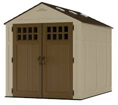 Rubbermaid Storage Shed Accessories Canada by Amazon Com Suncast Bms6810d Everett Storage Shed 6 X 8
