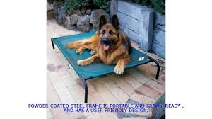 Coolaroo Dog Bed Large by Coolaroo Dog Bed Outdoor Dog Bed Best Outdoor Dog Bed Youtube
