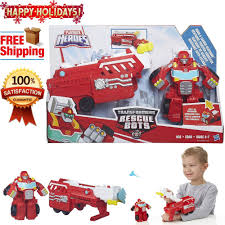 100 Rescue Bots Fire Truck HOT Original Playskool Heroes Transformers RESCUE BOTS