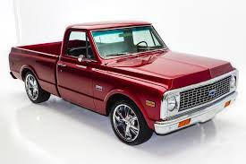 1971 Chevrolet Pickup Cheyenne Frame-Off 454 A/C -