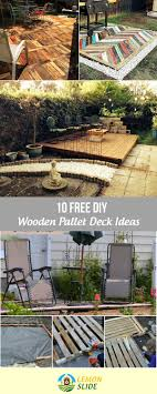 10 Free DIY Wooden Pallet Deck Ideas For Your Backyard