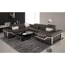 canape panoramique design canapé d angle cuir panoramique design torino xl pop design fr