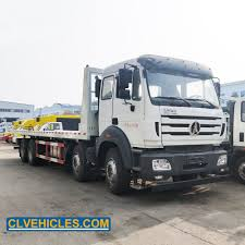 100 Flatbed Truck Bodies Hot Item 20t Tow Emergency Recovery Body