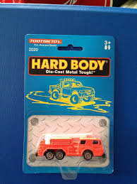 100 Tootsie Toy Fire Truck Toy Hard Body Diecast Metal Scale Model