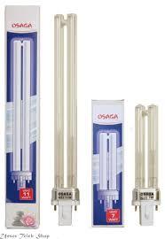 Uvc Lampe 9 Watt by 20 Uvc Lampe 55 Watt Set Tl Lampe Quarzglas Lampen Tmc Pro