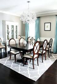 8 Interior Design For Fabulous Rug Under Dining Table And Cowhide