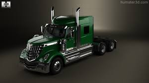 360 View Of International LoneStar Tractor Truck 2008 3D Model ...