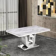 Maltby Marble Dining Table By Everly Quinn Lovely