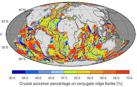 Sea Floor Spreading Animation Download by Muller Et Al 2008 Age Spreading Rates And Spreading Symmetry