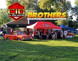 100 Brothers Classic Trucks C10s In The Park