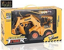 100 Remote Control Trucks For Kids MousePotato JCB Rechargeable Truck Excavator