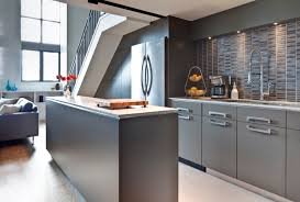 Modern Grey Kitchen Cabinets Design