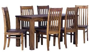 Charming Dark Brown Solid Wood Dining Table Furniture Room ...
