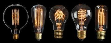 traditional lights led and energy saving light bulbs