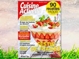magazine de cuisine comment résilier cuisine actuelle en ligne sur