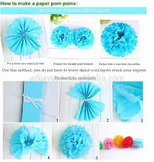 How To Make Hanging Decorations Out Of Tissue Paper New Ball Flower Roho 4senses