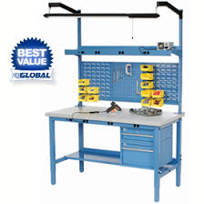 adjustable height work bench systems at global industrial