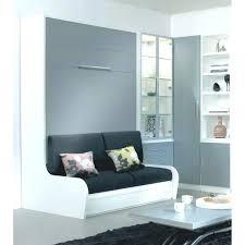 lit avec canapé lit escamotable avec canape integre armoire lit escamotable cus