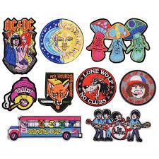 Parches De Emblemas De Dibujos Animados Bordados Para Chaquetas Insignias De Personajes Bordados Apliques De Dibujos Animados Para Jeans Parches De