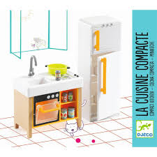 djeco puppenhaus möbel küche kompakt