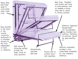 how to build murphy bed free plans pdf download home made murphy