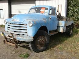 100 1951 Chevy Truck For Sale 6400 4x4 Tow Truck The BangShiftcom Ums