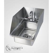 Splash Guard For Bathroom Sink by Drop In Hand Sink W Splash Guard Klingerstrading