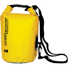 OverBoard Waterproof Dry Tube Bag 5L Yellow OB1001Y B&H