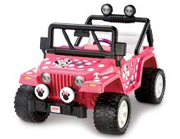 Mickey And Minnie Mouse Bath Decor by Power Wheels Disney Minnie Mouse Jeep 12 Volt Battery Powered Ride