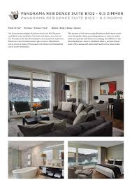 3 bedroom panorama residence suite by the bürgenstock