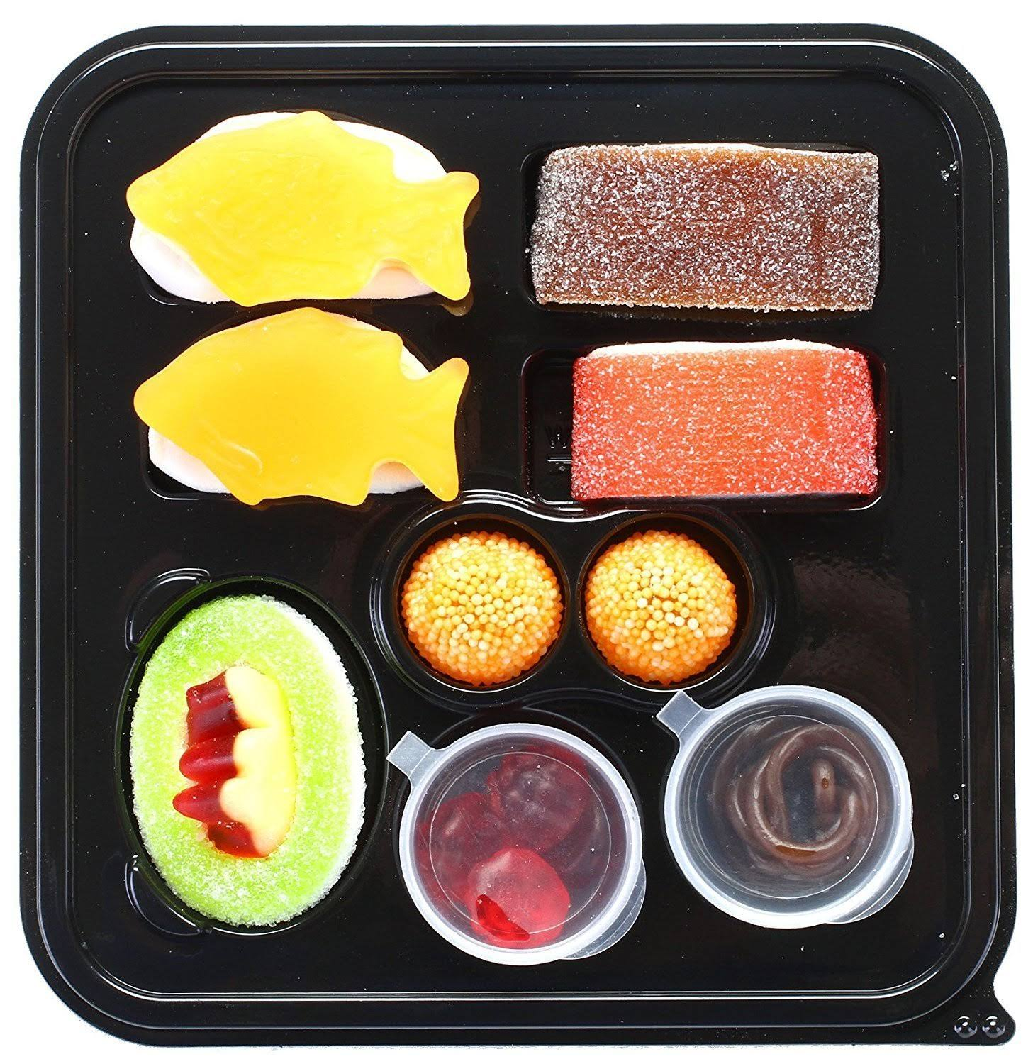 Raindrops Mini Candy Gummy - Sushi Bento Box