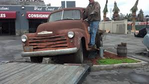 100 1947 Chevy Truck 3 Window Pickup ALL Original CA Farm