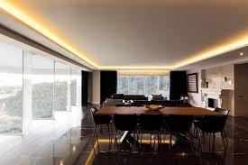 indirekte deckenbeleuchtung und einbauspots apartment in