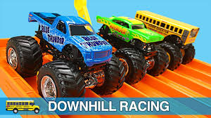 Monster Trucks For Kids - Hot Wheels Monster Jam Monster Truck ...