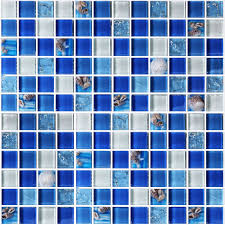 blue mosaic tile blue mosaic tile wall in bathroom