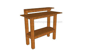 stand up desk plans howtospecialist how to build step by step