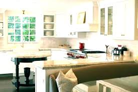 Built In Dining Table Kitchen Island With Bench Combo Islands