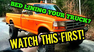 100 Bed Liner Whole Truck SHOULD YOU BED LINE YOUR TRUCK Using Liner As Paint 9 LIFTED