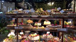 100 Melbourne Bakery Display Of Fresh Cream Cakes At The Hopetoun Tea Rooms