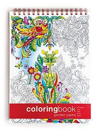 Garden Paths Coloring Book