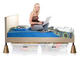 Sturdy Bed Risers by Raise Your Bed Height 2 3 Or 5 Inches Make Your Bed Taller With